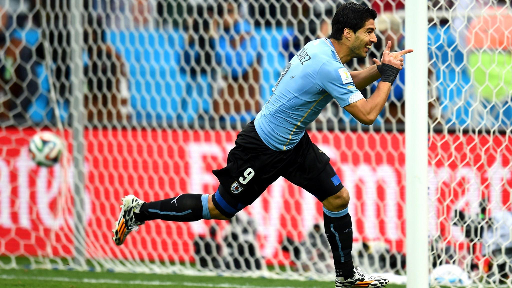 Uruguay-England 2-1 / 19 Jun 2014 - 16-00 / Sao Paulo - Aren