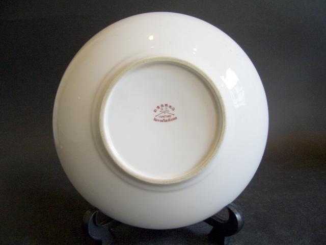 初期ノリタケ花絵鉢 日本陶器株式會社 製