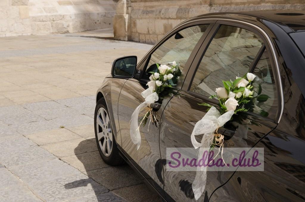 фото ручек свадебного автомобиля