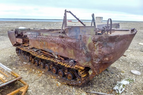 Old Russian Technology left to rust