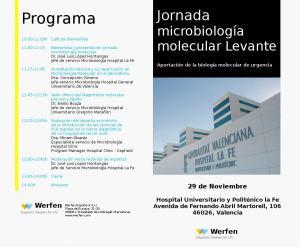 Jornada microbiología molecular Levante