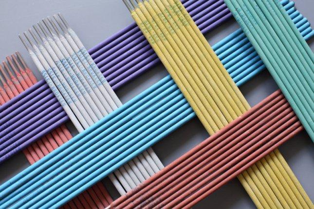 электроды для сварки цветные