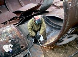 Демонтаж металлических емкостей резка вывоз Сварка Люкс Екатеринбург