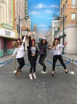 Tess, Megan, Me, Shannon