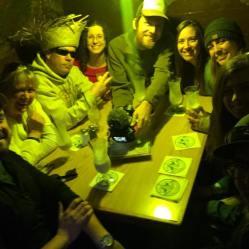 Luau Larry's Cave (Clarke, mama Neely, Rob, Brande, Jon, Shannon, Tess, Marissa, Chris