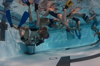 Unterwasserrugby an den Projekttagen des SGH