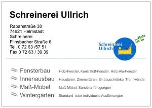 Schreinerei Ullrich