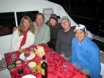 The Gang at Marina Cortez - San Diego Boat Parade