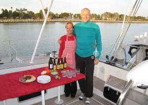 Cindy & Scott - San Diego Boat Parade Party