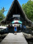 Arrival at Huahine