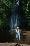 Teahupoo Surfing Beach Waterfall