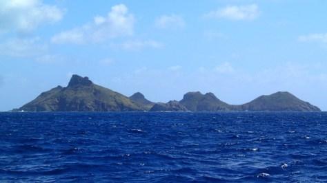 Approaching Ile Fourche