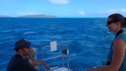 Heading to the next island