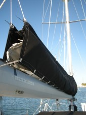 new sail cover installed