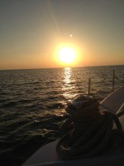 sunrise over Hawk Channel