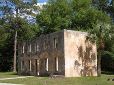 Horton House ruins