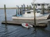 dinghy parking