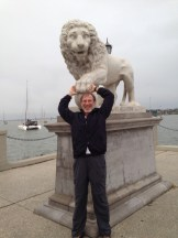 John with lion