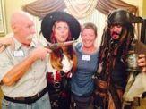 LT 20141207 with Lady Aruna & Capt'n Jack Sparrow