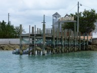 dinghy parking, Green Turtle Cay