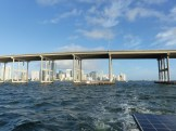 Rickenbacker Causeway Bridge, Miami beyond
