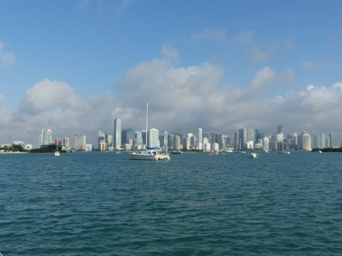 Miami skyline from Marine Stadium