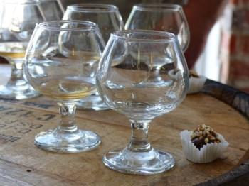 tasting + rum ball