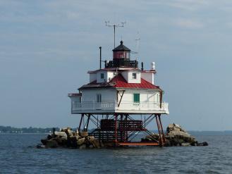 Thomas Point Shoal Light, Chesapeake Bay