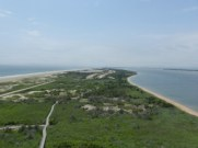 Fire Island Light, view to west