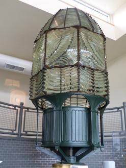 first order Fresnel lens, Fire Island Lighthouse