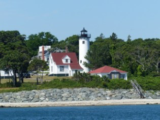 West Chop Light, from the water