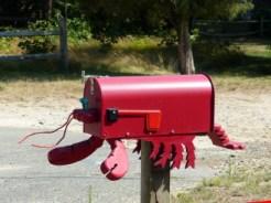 lobster mailbox