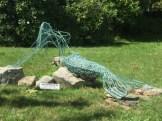 mermaid sculpture, Greenport