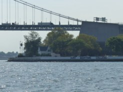 Throgs Neck Light and Keepers Quarters