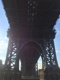 Williamsburg Bridge upshot, East River, Lower Manhattan