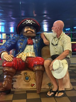 Mike and his new friend, Ocean City Boardwalk