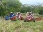 3 Karts lined up