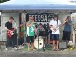 FEEDBACK – Band at the Canopy Bridge that has a Artist Market.