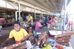 Market at Labasa again