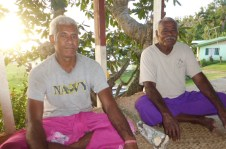 V Chief Joe – Joe is the Vice Chief for Daliconi. The real chief, his uncle, is in Suva, the capital of Fiji, to get rebuilding supplies