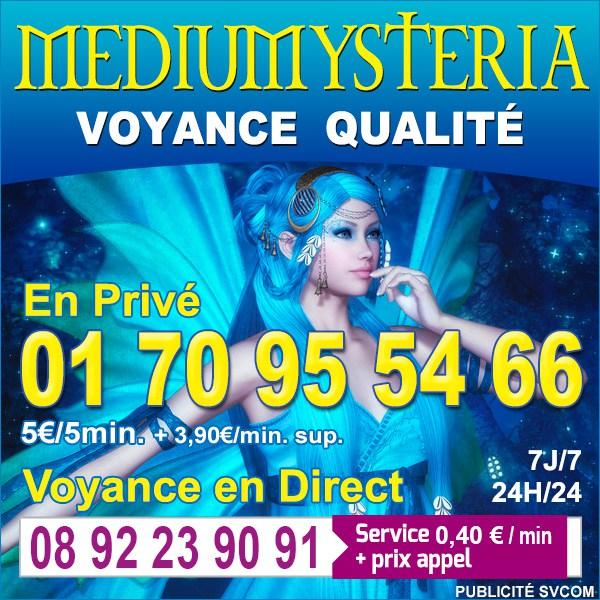 LE TOP DE LA VOYANCE AMOUR (0,40€) 0892 23 90 91