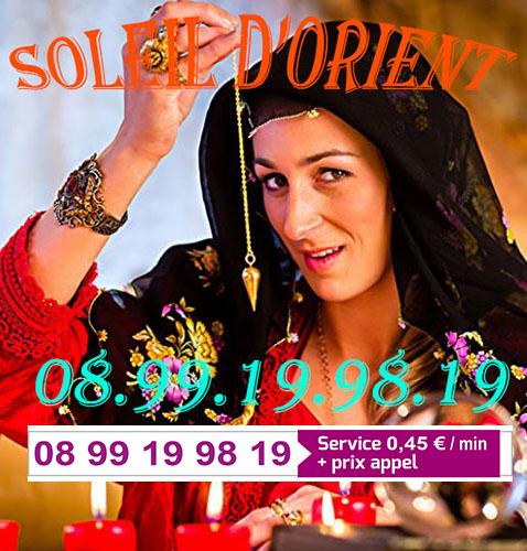 VOYANCE ORIENTALE PURE & SERIEUSE (0,45€) 0899 19 98 19