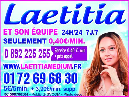 LE TOP DE LA VOYANCE LAETITIA 0892 225 255 (0,40€)