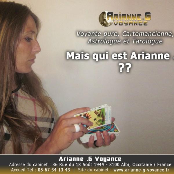 Arianne .G Voyance – Voyante pure et cartomancienne