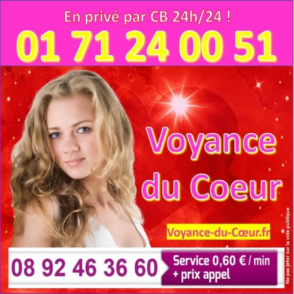 Spécialiste de la voyance de l'Amour au 0892463660 (0,60€/mn)