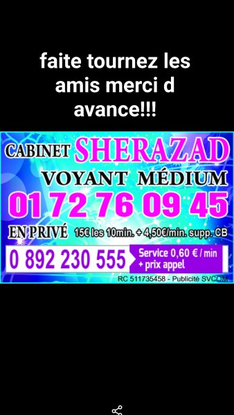 Sherazad voyance