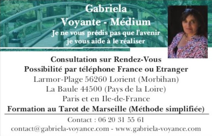 Gabriela Voyante-Médium – Coach de Vie