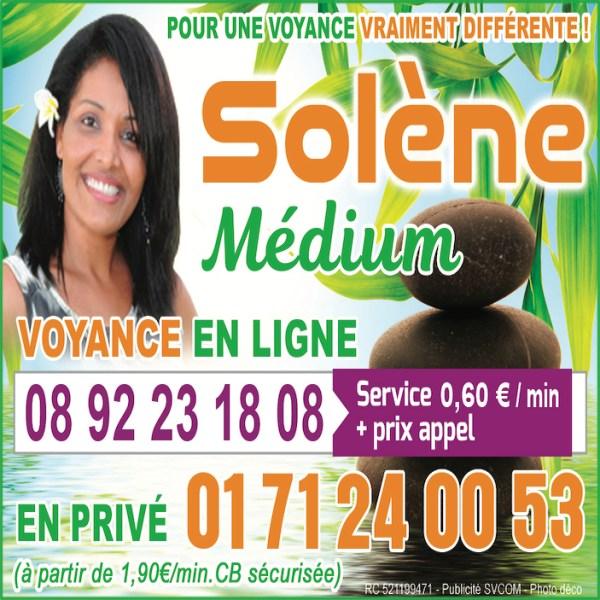 SOLENE, LE MEILLEUR DE LA VOYANCE AU  0892231808 (0,60€/mn)