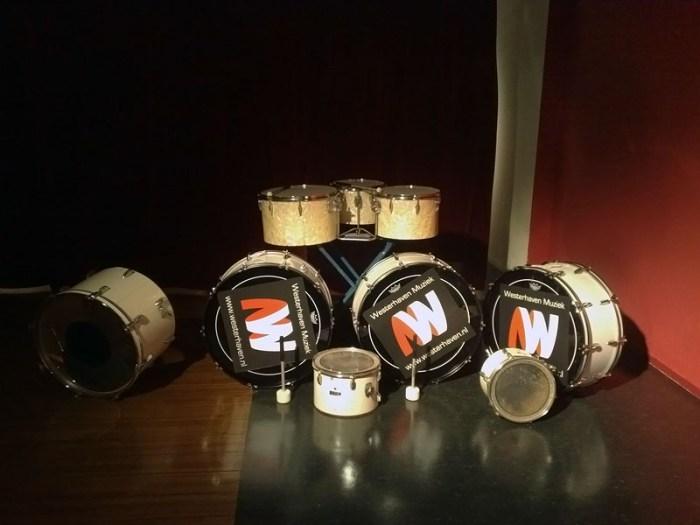 De nieuwe trommels
