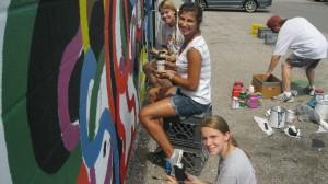 Alex, Jessica C. & Eileen